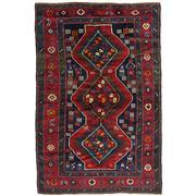 Sale 8860C - Lot 40 - A Caucasian An Antique  Kazak, Circa 1950, in Handspun Wool 130x206cm
