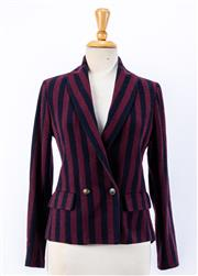 Sale 8891F - Lot 60 - An Erika Cavallini preppy blazer in a wool-blend, made in Italy, approx size 10 (as new with tags)