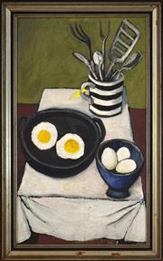 Sale 8325 - Lot 518 - Lewis Morley (1925 - 2013) - Breakfast 74 x 42.5cm