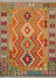 Sale 8455C - Lot 40 - Afghan Chobi Kilim 126cm x 89cm