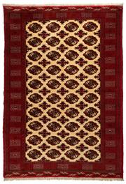 Sale 8780C - Lot 263 - A Very Fine Persian Turkaman, Wool On Cotton Foundation Classed As Tribal Rugs, 280 x 200cm