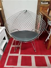 Sale 8817 - Lot 1056 - Bertoli Style Diamond Chair