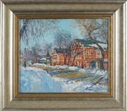 Sale 8838A - Lot 5115 - Russian School - Street Scene, 1997 30.5 x 37.5cm