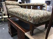 Sale 9006 - Lot 1029 - Edwardian Chaise (h:73 x l:190 x d:65cm)