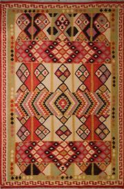 Sale 8455C - Lot 41 - Afghan Chobi Kilim 310cm x 210cm
