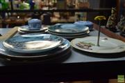Sale 8518 - Lot 2323 - Collection of Cabinet Plates inc Doulton and Japanese, together with Wedgwood Dishes