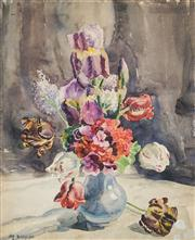 Sale 8549 - Lot 502 - Margaret Coen (1913 - 1993) - Still Life 58.5 x 47.5cm