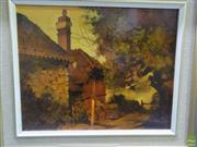 Sale 8557 - Lot 2020 - Alex McMillan, At Hunters Hill, oil on canvas board, 29 x 36.5cm, signed lower left