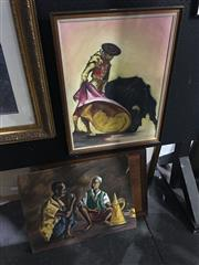 Sale 8702 - Lot 2069 - Two Matador Prints Together with Another
