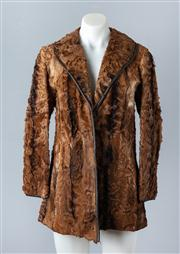 Sale 8828F - Lot 27 - A Natural Moray African Kid Jacket By Cornelius Furs, Size Small