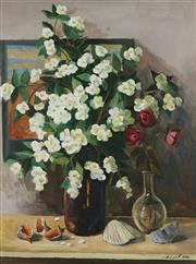 Sale 8838A - Lot 5134 - Russian School - Flower Still Life, 1994 77 x 57cm