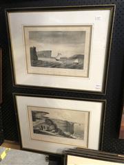 Sale 8906 - Lot 2096 - After Louis Auguste de Sainson (1800 - 1887) (2 works) Vue De LEntree Du Port Jackson & Vue Des Caps Du Port Jackson lithographs,...
