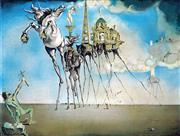 Sale 9032A - Lot 5045 - Salvador Dali (1904 - 1989) - The Temptation of Saint Anthony 43.5 x 57.5 cm (frame: 87 x 99 x 5 cm)