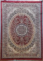 Sale 9034 - Lot 1046 - Turkish Machine Made Kashan (370 x 233cm)