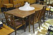 Sale 8287 - Lot 1067 - G-Plan Teak Dining Table & Set of Six chairs