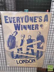 Sale 8421 - Lot 1017 - Vintage and Original London Promotional Poster (61cm x 43.5cm)