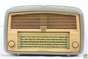 Sale 8608 - Lot 79 - AWA Mantle Radio (H:22cm L:34cm)