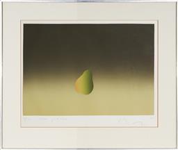 Sale 9125A - Lot 5073 - Artist Unknown - Une Poire, 1976 37 x 53 cm (frame: 61 x 72 x 3 cm)