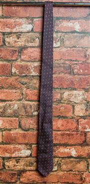 Sale 8420A - Lot 53 - A Jack London men's maroon silk tie, condition: new with tags