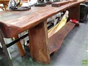 Sale 8469 - Lot 1087 - Rustic Bench