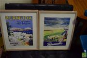 Sale 8513 - Lot 2066 - Pair of Framed Bermuda Pictures (1 frame AF)