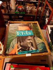 Sale 8582 - Lot 2346 - 4 Volumes Magazine & Print on Elvis incl. Elvis Special 1984; Elvis World; Elvis Special 1967; etc