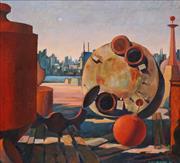 Sale 8652A - Lot 5080 - Justin Parker - Wharf Furniture, Balmain, 1998 66 x 71cm
