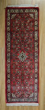 Sale 8672C - Lot 27 - Persian Husienbad 215cm x 73cm