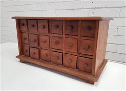 Sale 9137 - Lot 1026 - Multi drawer spice rack (h:34 x w:63 x d:30cm)