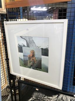 Sale 9155 - Lot 2032 - Marilyn Monroe Collage, Frame: 53 x 53 cm -