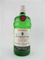 Sale 8403W - Lot 85 - 1x Tanqueray English Gin - Imperial Quart (1140ml), old bottling, some losses