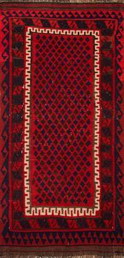 Sale 8455C - Lot 43 - Afghan Maymana Kilim 180cm x 90cm