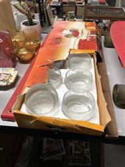Sale 8819 - Lot 2300 - 12 Glass Bowls