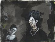 Sale 8916 - Lot 514 - McLean Edwards (1972 - ) - Untitled (Two Figures) 25 x 32 cm