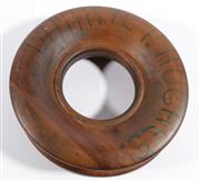 Sale 9003 - Lot 88 - Early Timber Hand Reel (d:29cm)