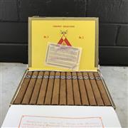 Sale 9042W - Lot 824 - Montecristo No. 3 Cuban Cigars - box of 25, stamped November 2017