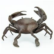 Sale 8390A - Lot 7 - Bronze Crab