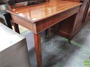 Sale 8455 - Lot 1098 - George III Mahogany Side Table on Castors