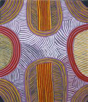 Sale 8549 - Lot 511 - Ada Bird Petyarre (c1930 - 2009) - Awelye Alchira, 1997 78 x 67cm (stretched & ready to hang)