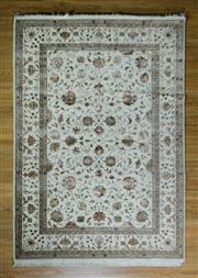 Sale 8672C - Lot 28 - Jaipor Silk & Wool 167cm x 241cm