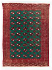 Sale 8740C - Lot 80 - A Persian Turkaman 100% Wool Pile, 280 x 210cm