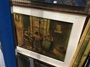 Sale 8776 - Lot 2084 - Artist Unknown - Tea Break, oil on canvas, SLR