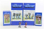 Sale 8855D - Lot 694 - The Collectors Show Case Collectible Figures (4)