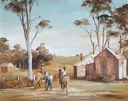 Sale 9047 - Lot 576 - Stuart Mckenzie Cullen (1933 - ) - Summer Riders 34 x 44 cm (frame: 53 x 63 x 4 cm)