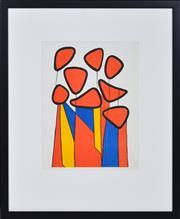 Sale 8349A - Lot 48 - Alexander Calder (1898 - 1976) - Untitled, 1972 32 x 24cm (frame size 55 x 45cm)