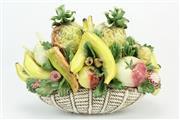 Sale 8405 - Lot 46 - Capodimonte Fruit Bouquet