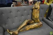 Sale 8472 - Lot 1048 - Plaster Female Figure