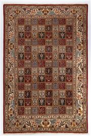 Sale 8740C - Lot 81 - An Iranian Rug, Garden Design, Khorasan Region, Very Fine Wool And Silk Pile, 300 x 200cm