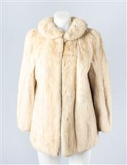 Sale 8828F - Lot 24 - A Pearl Mink Jacket By Hammerman Furs, Size Medium