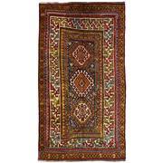 Sale 8860C - Lot 47 - An Antique Caucasian Kazak Rug, in Handspun Wool 246x138 cm